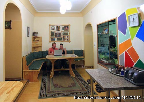 Dining room - Feel your home at Idre hostel