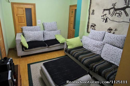 TV room - Feel your home at Idre hostel