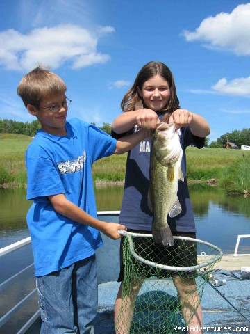 Kids and Lunkers (#5 of 13) - Where Nature Plays and Your Heart Sings
