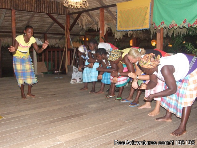 maroons in Suriname - Authentic African culture in Suriname - 3 Guyana's tour in South America