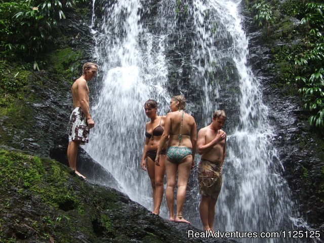 Visit the waterfalls at the Brownsberg nature park Suriname - 3 Guyana's tour in South America