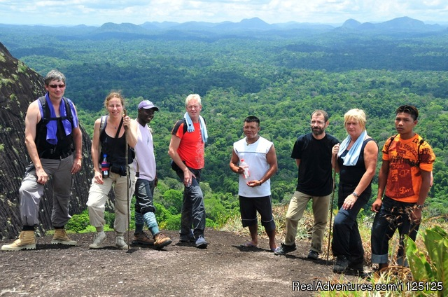 Jungle adventure and trekking tour to the mountains - 3 Guyana's tour in South America