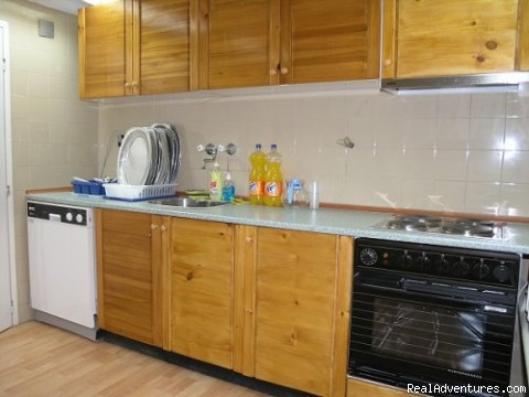 Sofia guesthouse kitchen - Scandinavian Tourist Information Centre
