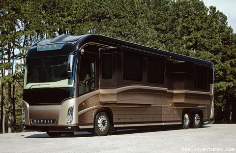 Allstar Coaches Luxury RV Rentals in Florida Allstar Coaches Florida RV Rental - Newell 2000i