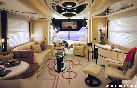 Allstar Coaches Florida RV Rental - Newmar Essex - Allstar Coaches Luxury RV Rentals in Florida