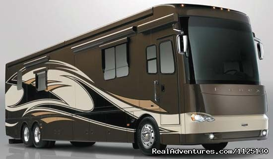 Allstar Coaches Florida RV Rental - Newmar Essex (#7 of 16) - Allstar Coaches Luxury RV Rentals in Florida