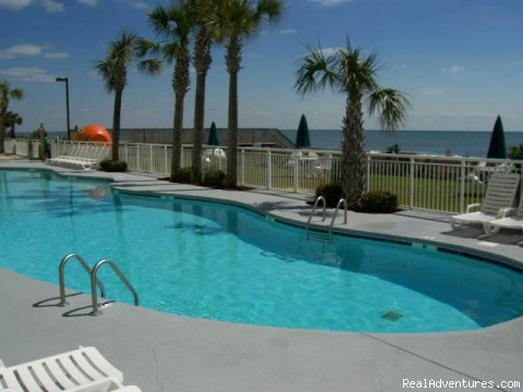Ocean Front Vaction Rentals JeffsCondos By Owner Pools