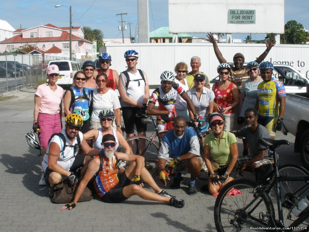 Cycling tours, sleep on CRUISE SHIP, NCL and bike in each ports of call. The Caribbean, Alaska, Europe Cruise by Night & Cycle by Day.  Tours started in 1989. Fully supported, guides, food, Trek/Gary Fisher bikes.10 days in  Caribbean, 7  days Alaska