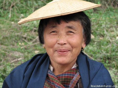 Bhutan Travel & Tour Information: Bhutanese Woman