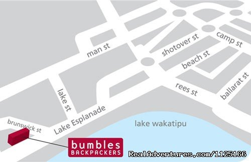 Central lakefront location | Image #11/12 | Bumbles Backpackers Queenstown