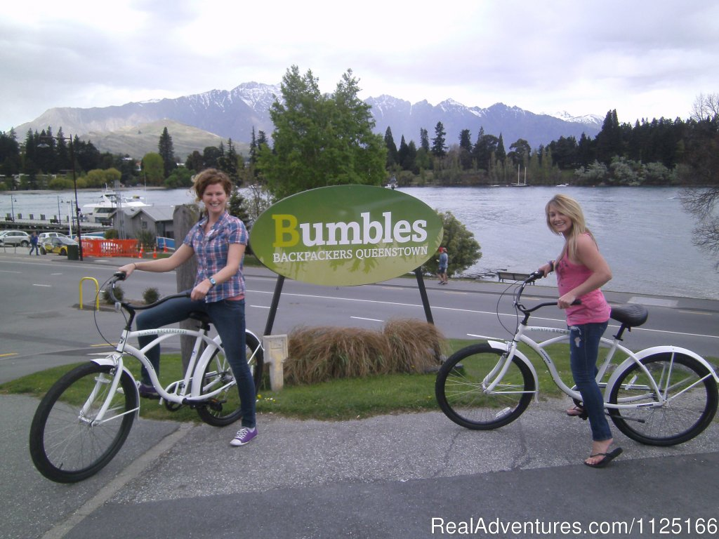Bikes available to rent for FREE - Bumbles Backpackers | Image #12/12 | Bumbles Backpackers Queenstown