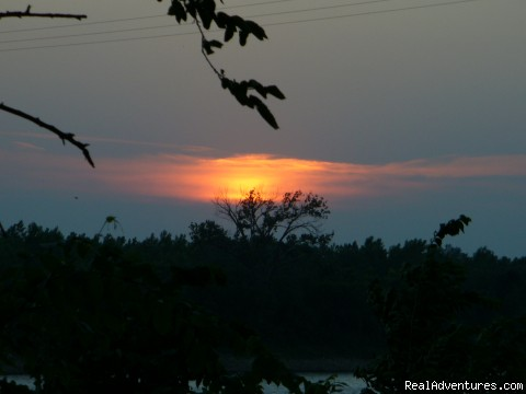Sunset on Missouri River (#3 of 3) - Relive History at Museum Hill B and B