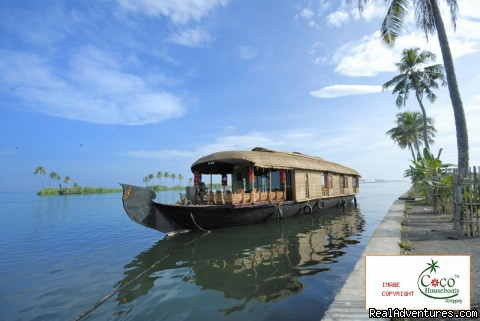 Luxury Houseboats since the year 2000 - Coco Houseboats, Alleppey , Kerala, India