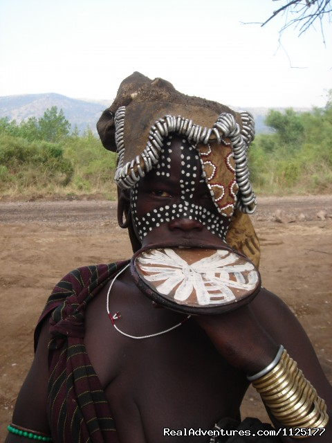 The Mursi woman - Ethiopian Holidays