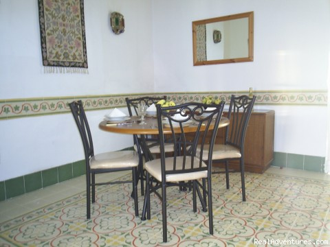 Formal dining area - Apartment, Vacation Rental in Gandia, Valencia