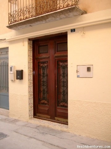 The front facia of our Valencian Townhouse