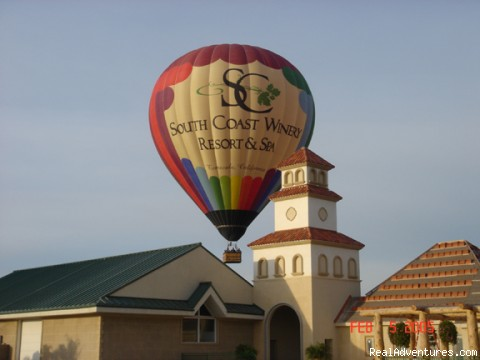Up, Up, and Away - Romantic Balloon Ride Getaway with B & B (CLOSED)