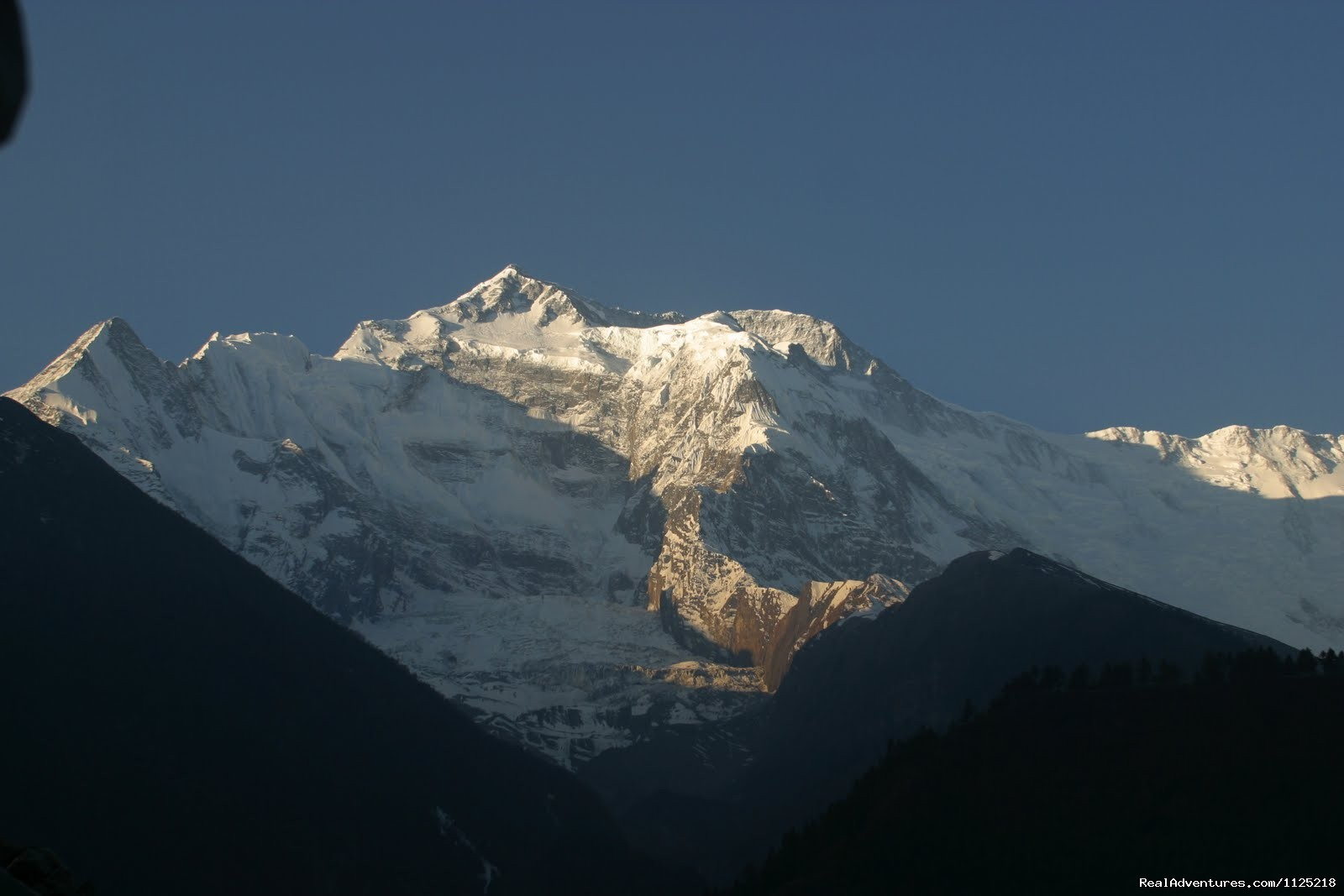 Annapurna from Pisang