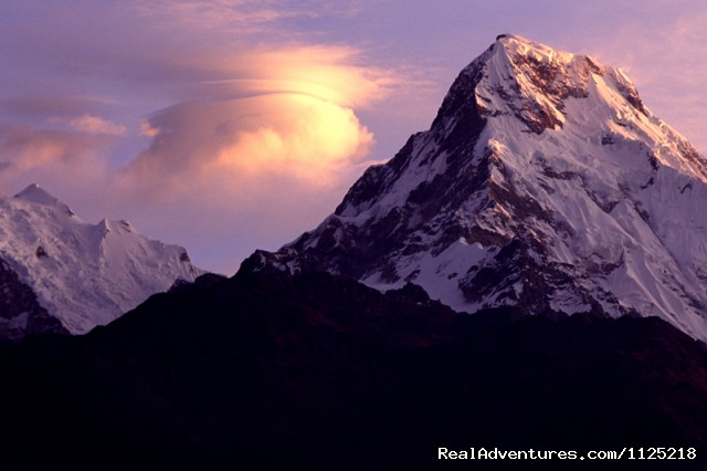 sunrising (Annapujrna) (#4 of 21) - Annapurna  Circuit  Trek Nepal