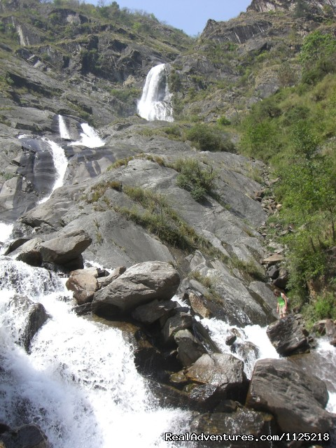 Rupse Water fall - Annapurna  Circuit  Trek Nepal