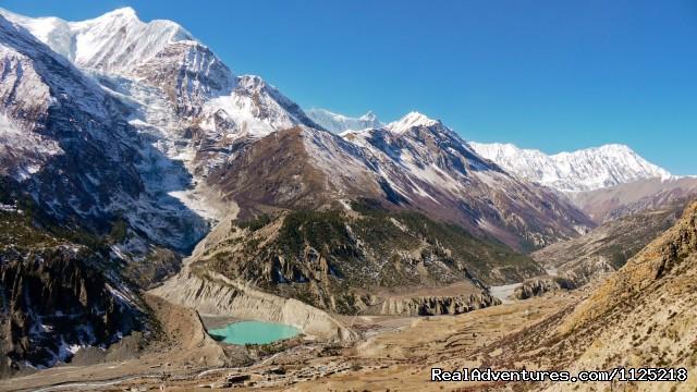 Gangapurna glacier & Lake (#17 of 21) - Annapurna  Circuit  Trek Nepal