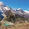 Gangapurna glacier & Lake