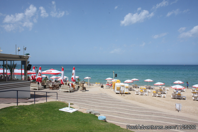 ONE minute walk from the beach - Israel Vacation Homes
