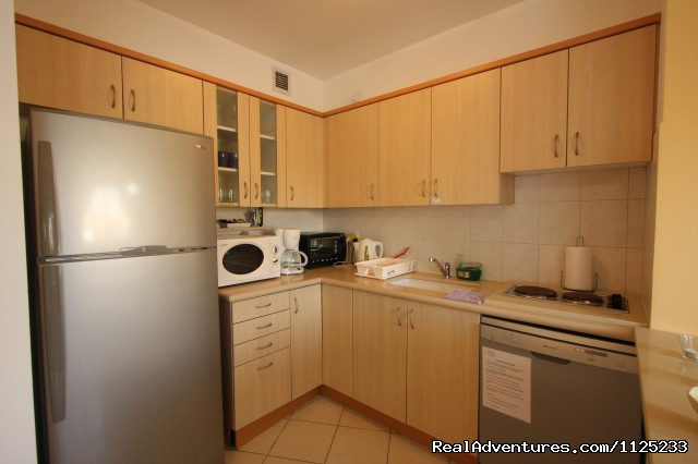 Fully Equipped Kitchen - Israel Vacation Homes