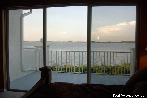 Waterfront Villa: View from Master Bedroom