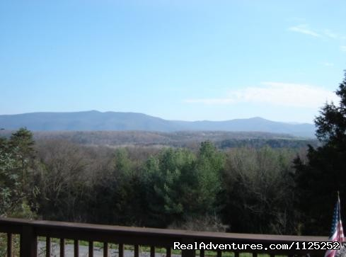 View From Doves Nest - Shenandoah River Cabins -LionCrowCabins, Luray, VA