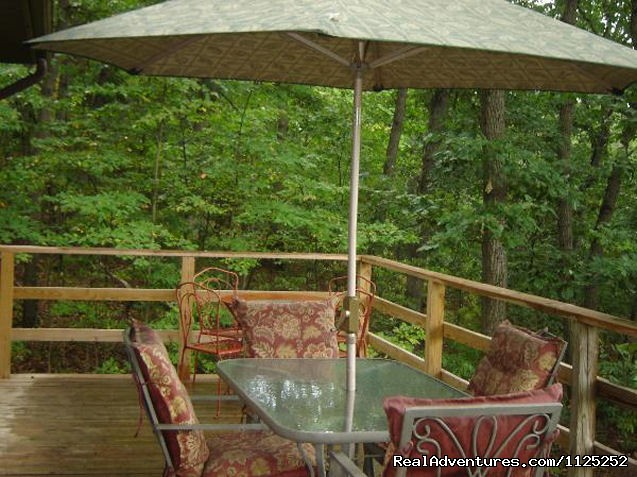 Acorn Hill Deck (#11 of 20) - Shenandoah River Cabins -LionCrowCabins, Luray, VA