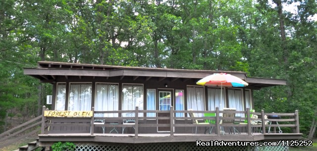 Forest Glen - Shenandoah River Cabins -LionCrowCabins, Luray, VA