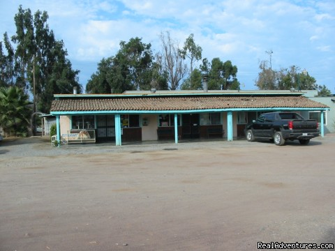 Front View of Restaruant (#2 of 6) - Posada Don Diego R.V. Park-Motel-Restaurant-Bar