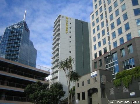 Auckland City central location - Bankside Waldorf Apartments