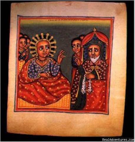 Historic Ethiopia & Ethiopia The Living Musuem church painting