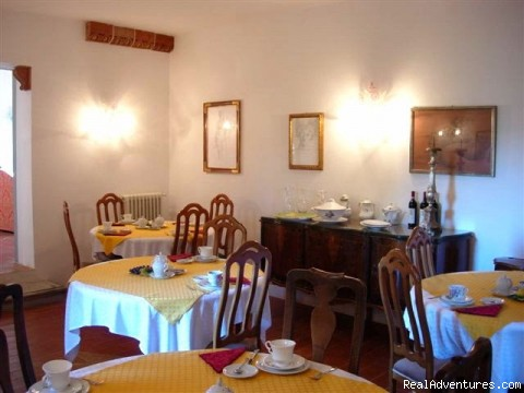 The Breakfast room - romantic country B&B POGGIO AL SORBO