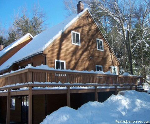 Lg Family Townhouse near Attitash,Storyland,Outlet: Our Mountain Retreat in the Winter