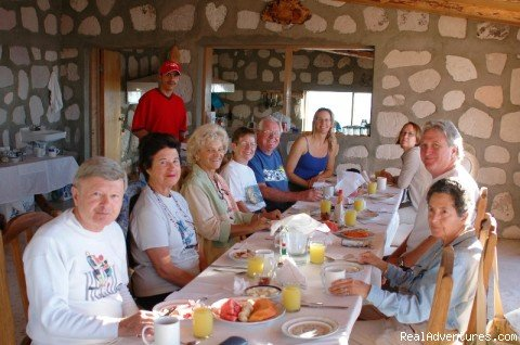 Breakfast at the Uno Lodge