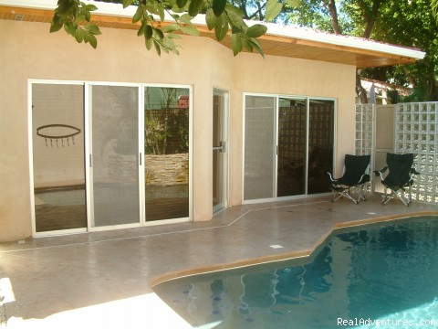 Pool and outdoor patio / kitchen - Romantic Getaways at Casa Gecko, Tamarindo