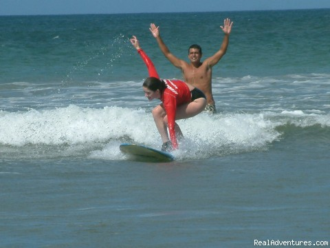 Surf Lessons - Romantic Getaways at Casa Gecko, Tamarindo