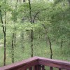 Chillin' Cabin Rental - Front Deck View - Facing S/SW