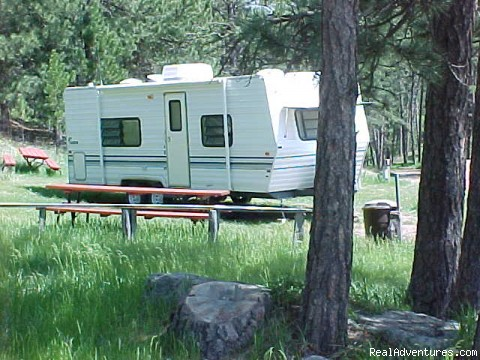 Sites - Echo Valley Park Campground RV Park