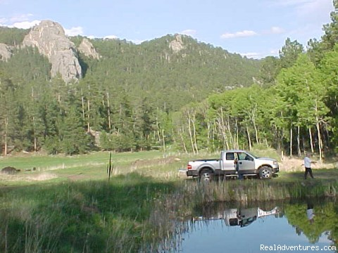 Fishing - Echo Valley Park Campground RV Park
