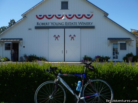 Robert Young Vineyards & Winery - 1-5 Day California Cycling & Multisport Vacations