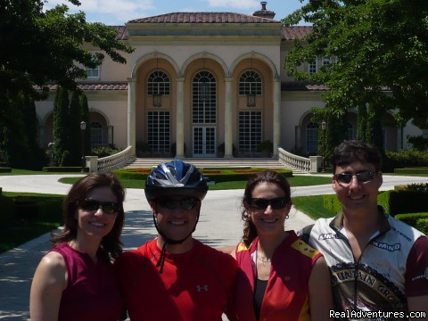 Ferrari Carano Winery & Vineyards - 1-5 Day California Cycling & Multisport Vacations