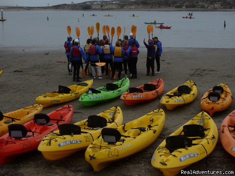 Kayaking in Sonoma County - 1-5 Day California Cycling & Multisport Vacations