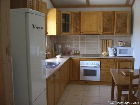 Fully equipped kitchen - A home away from home