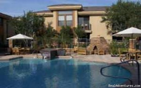 Pool Area - Luxury Furnished Scottsdale Condo for Rent
