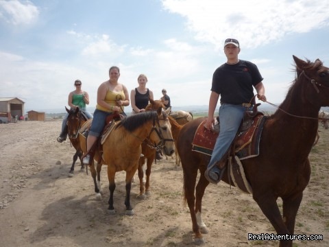 Over Night Boarding, Trail Rides, Riding Lessons !: collage of idaho group trail ride