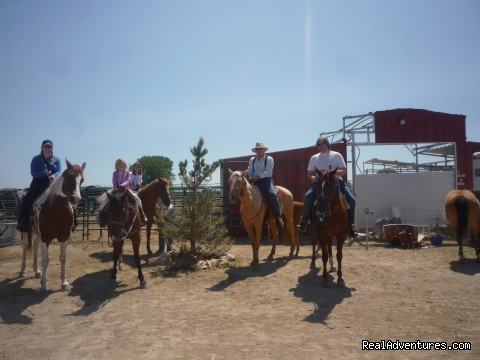 family trail ride - Over Night Boarding, Trail Rides, Riding Lessons !